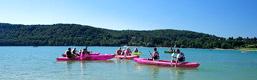 Activités canoe lac Jura