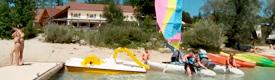 sports nautiques lac chalain